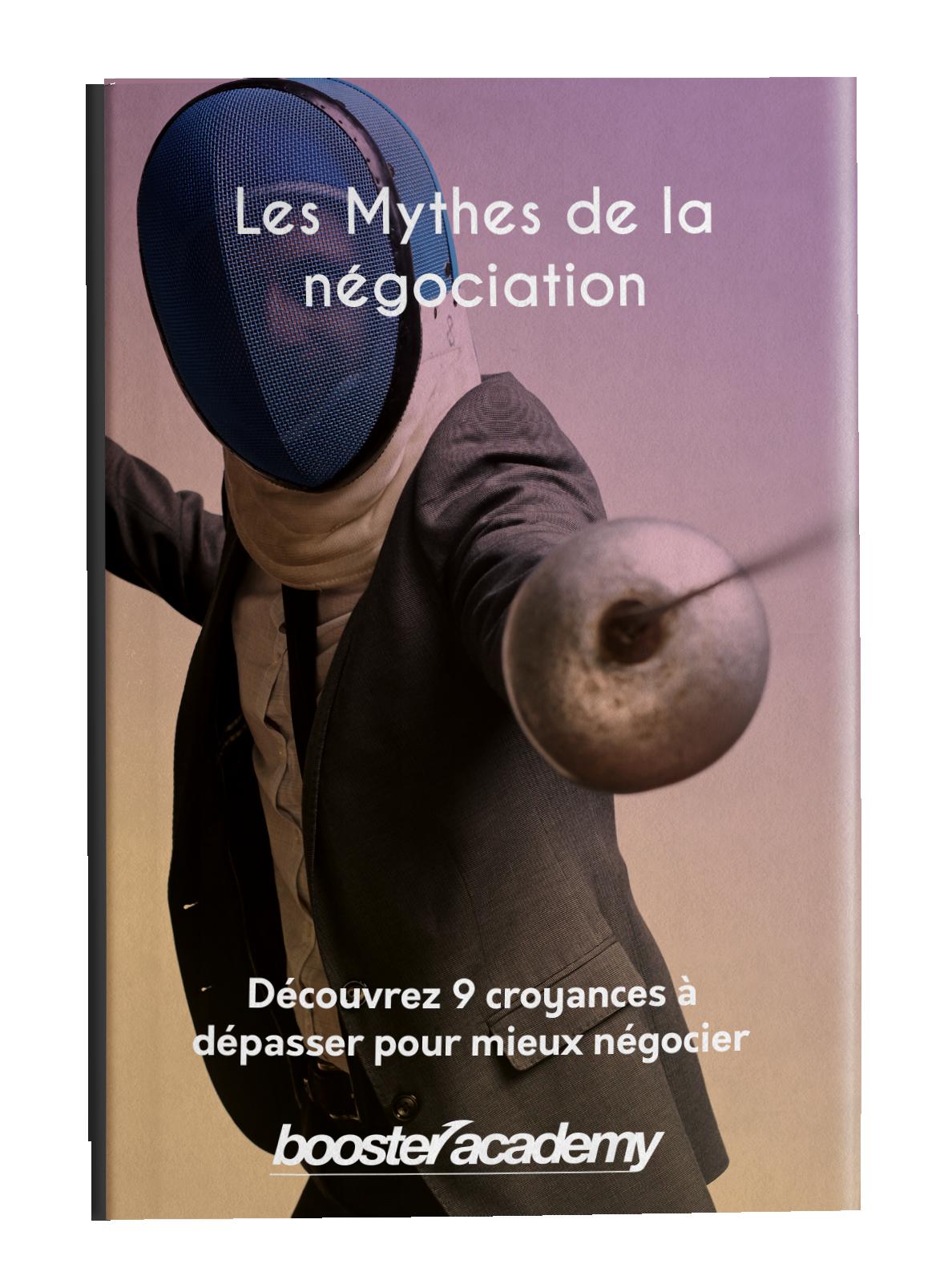 Cover 3D Les mythes de la négociation